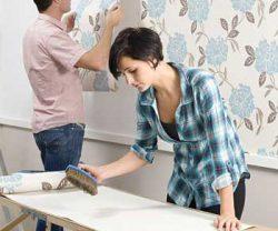 Các lưu ý khi tự dán giấy dán tường