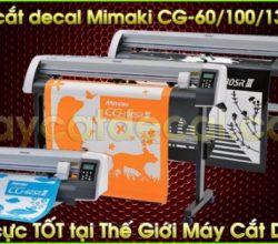 Máy cắt decal Mimaki CG-130SRIII Nhật Bản