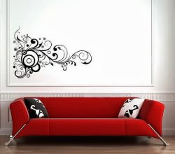 Một số tiêu chí chọn mua decal dán tường phòng khách